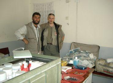 Apparecchiature ospedale di Baghlan