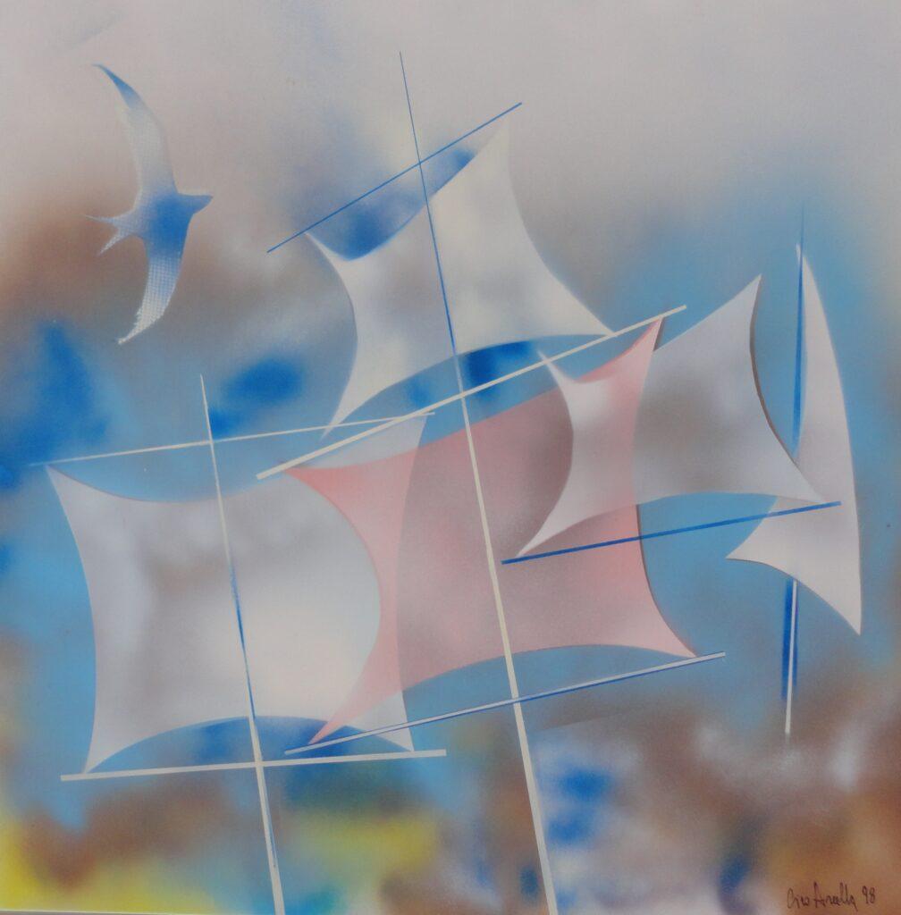 CIRO ARCELLA 'S'avvia una nave, spiegando tutte le vele'