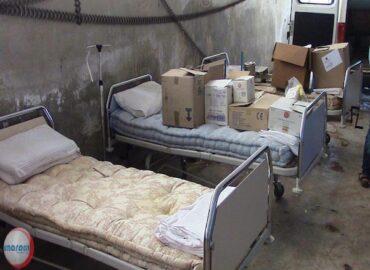 Primo soccorso nella regione di Idlib, Aleppo e Hazzano