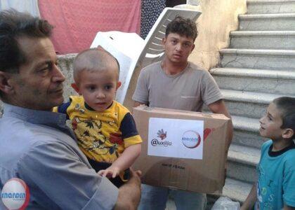 Sostegno alimentare sulla frontiera turco-siriana