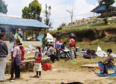 Aiuti per i terremotati e Scuola di Yangrima