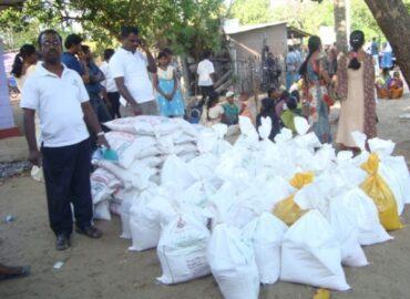 Reinsediamento di 23 famiglie a Batticaloa