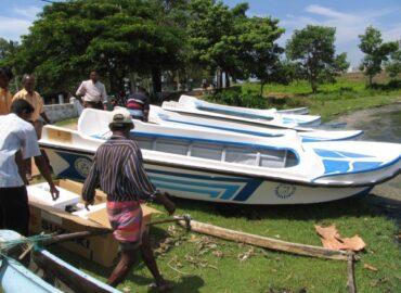 Barche per i pescatori