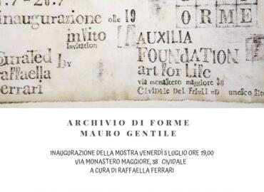 Inaugurazione Archivio di forme