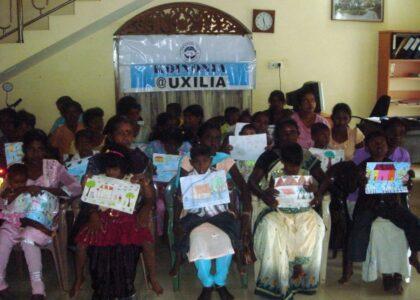 Il sostegno dopo l'alluvione in Srilanka