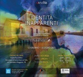 Mostra collettiva: 'Identità inapparenti', a cura di Giancarlo Bonomo e Raffaella Rita Ferrari
